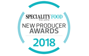 New producer award winner logo