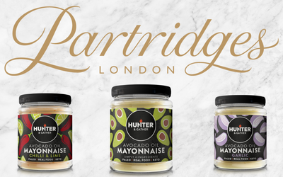 Partridges London Joins Hunter & Gather as a Prestigious New Stockist