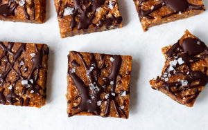 Protein squares with collagen peptides