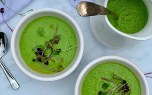 green soup cold