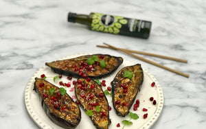Glazed Aubergine With Avocado Oil & Ginger