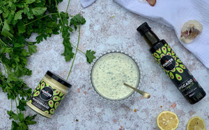 A 5 minute Homemade Keto Avocado Oil Ranch Dressing