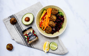 Paleo Sweet Potato And Spring Onion Falafel