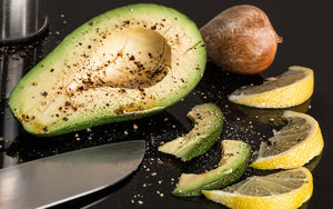 avocados with lemon