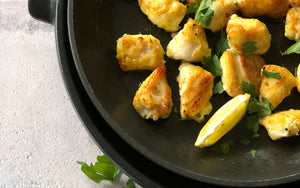 Lemon chicken nuggets paleo and keto