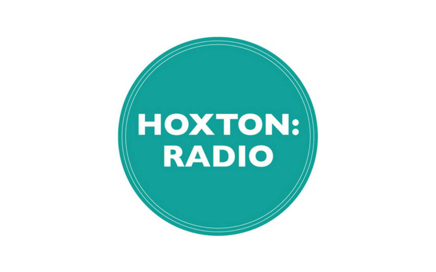Hoxton radio logo green and white