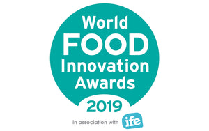 World Food Innovation award win logo