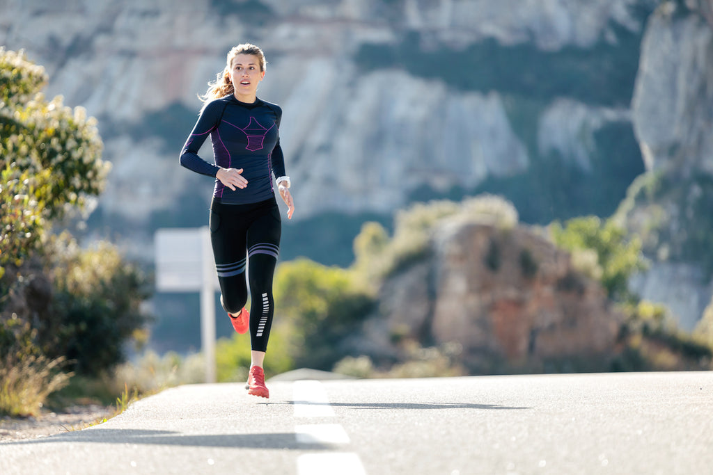 How long does it take to get into ketosis? Woman running outdoors