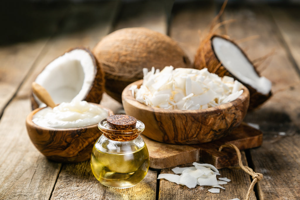MCT oil vs coconut oil: Coconuts in various forms