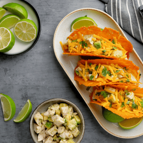 Hunter & Gather Cheesy Tacos with Ranch Chicken