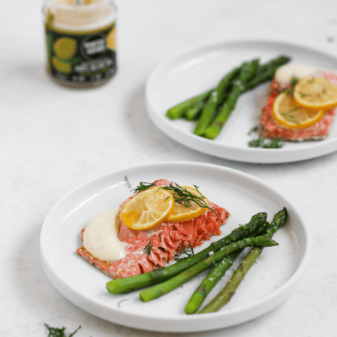 Hunter & Gather Lemon and Dill Salmon Recipe with 100% Olive & Lemon Mayonnaise