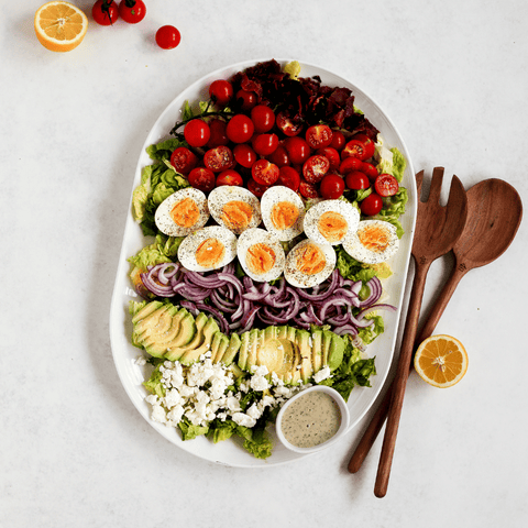 Hunter & Gather Cobb salad with olive oil ranch dressing