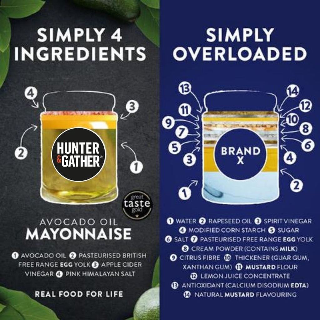 keto mayonnaise: Mayonnaise Product comparison chart