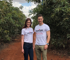 co-founders in kenya at farms