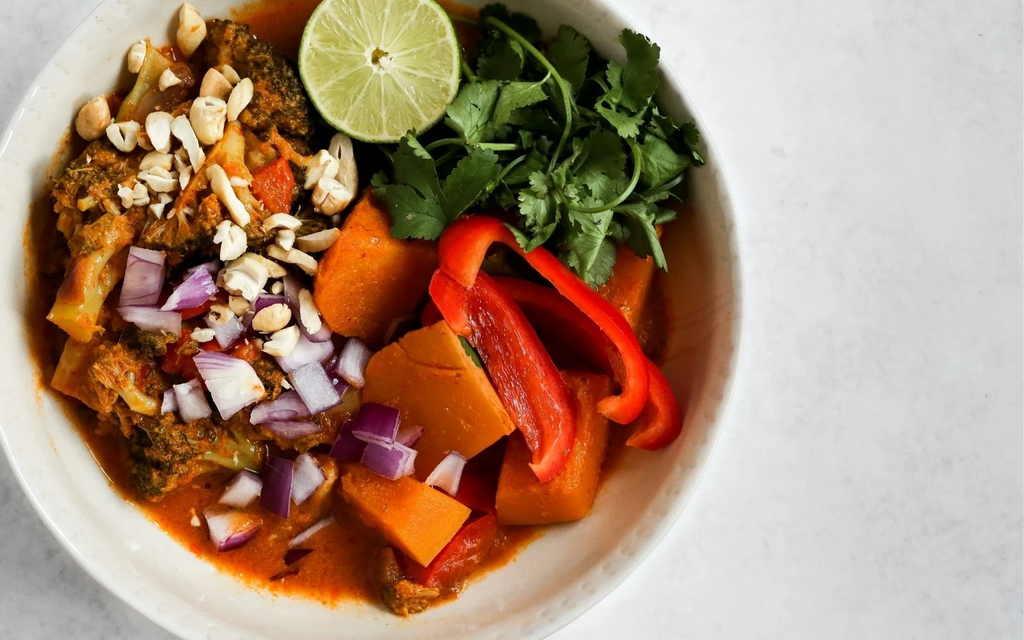 High protein low carb meals: Thai red curry