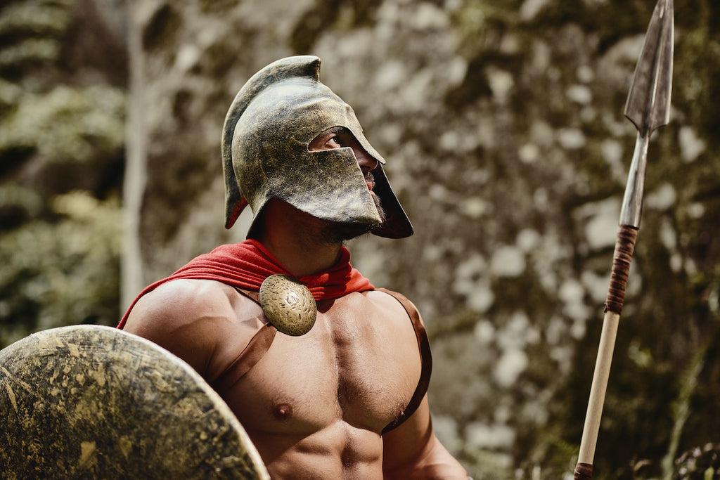 Game changers debunked: Gladiator holding a shield and sword