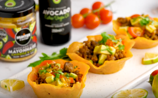 Spicy keto taco boats with Avocado Oil Mayonnaise by Hunter & Gather