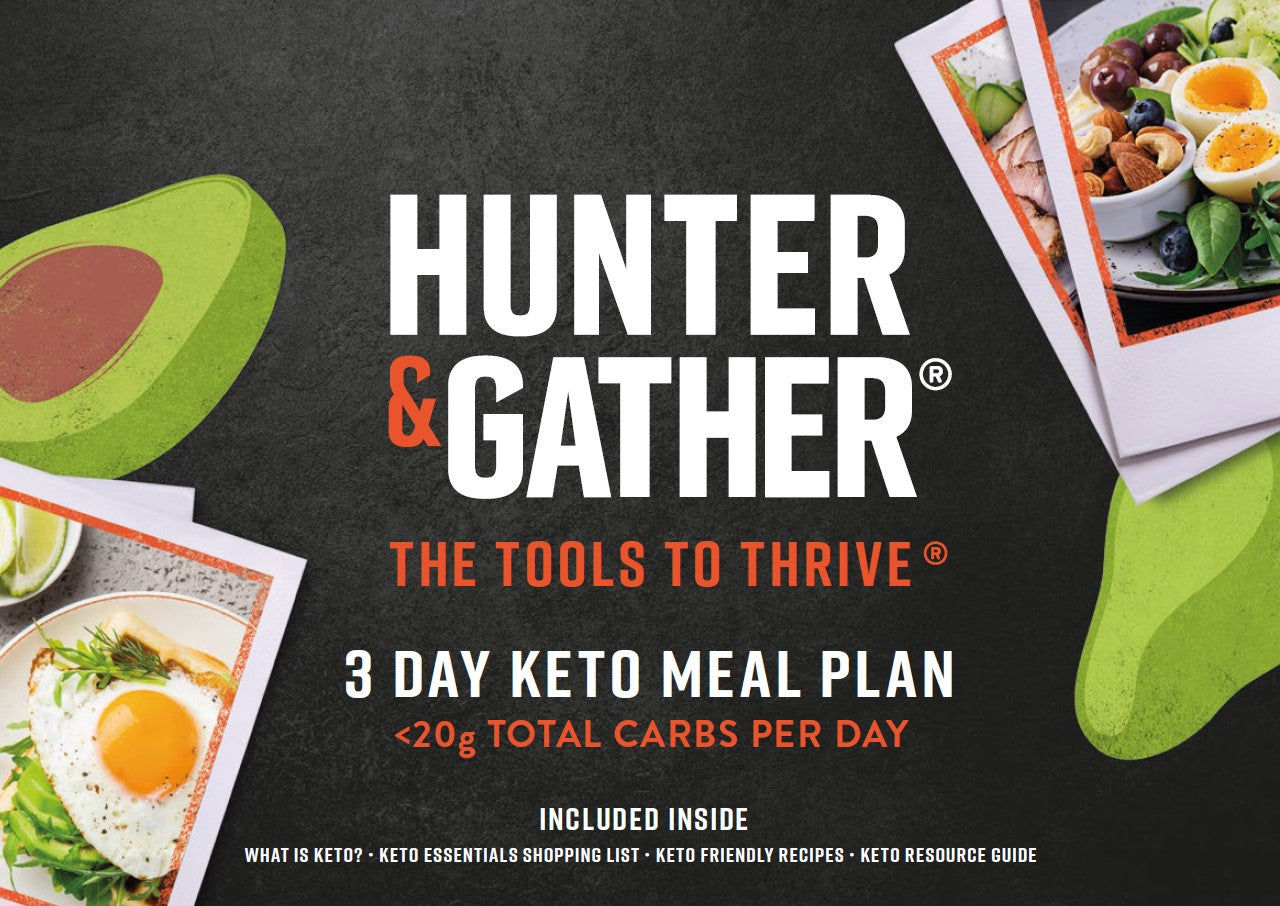 Keto Meal Plan Page 1
