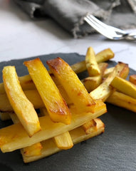 Honey roasted parsnips chips