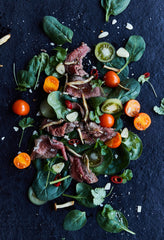 Real Food Lifestyle, Paleo Diet beef salad