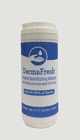 DermaFresh HANDS SANITIZER WIPES