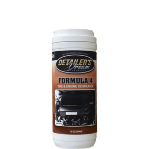 FORMULA 4™-Spray On/ Rinse Off Tire & Engine Degreaser-Detailer's Dream