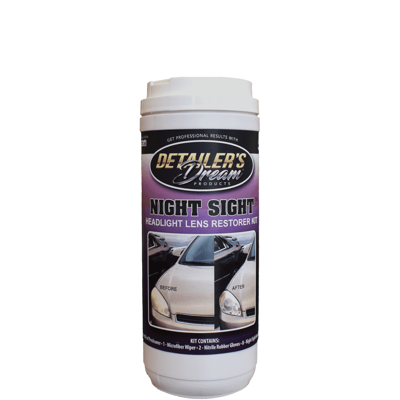 NIGHT SIGHT™-Headlight Lens Restorer-Detailer's Dream