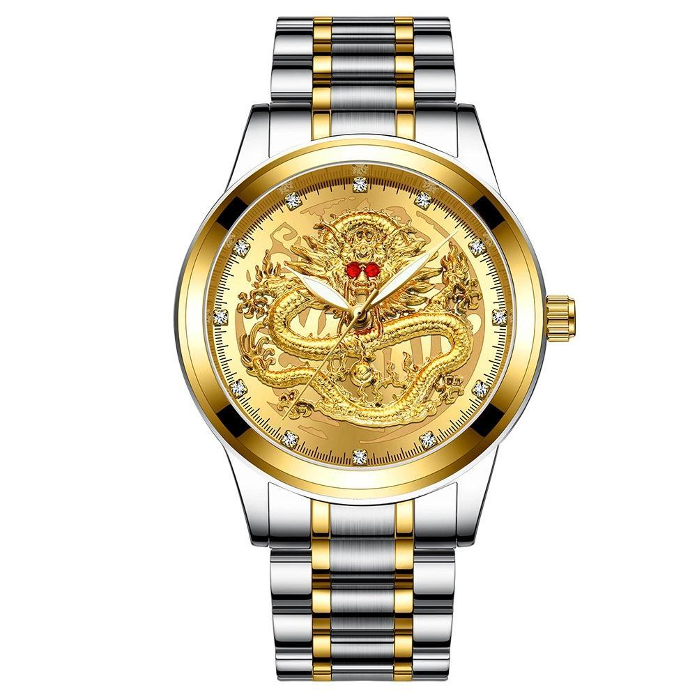 Waterproof Golden luxury watch