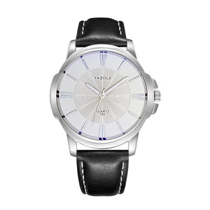Sports Men Watch Luxury Top  business Male Clock simple WristWatch Leisure Fashion Leather quartz watch