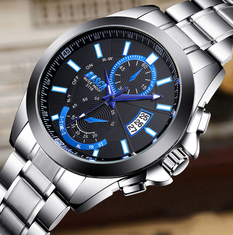 Men's waterproof quartz watch(Last day promotion)