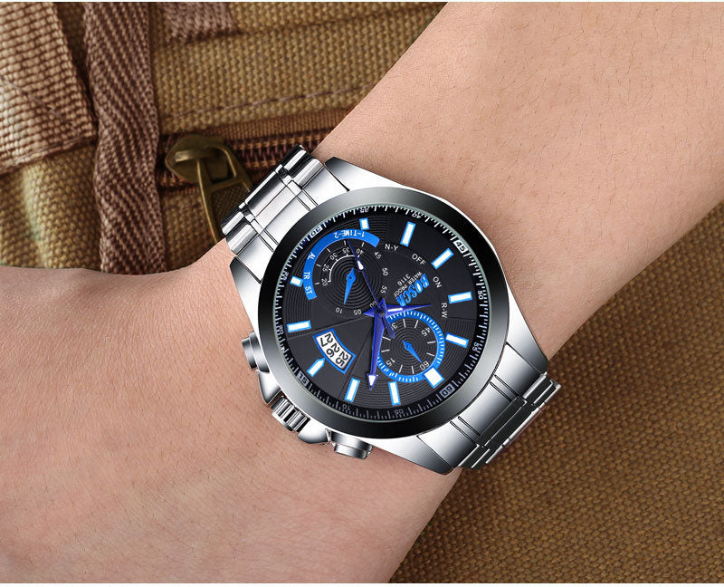[70%OFF](Last day promotion)Men's waterproof quartz watch