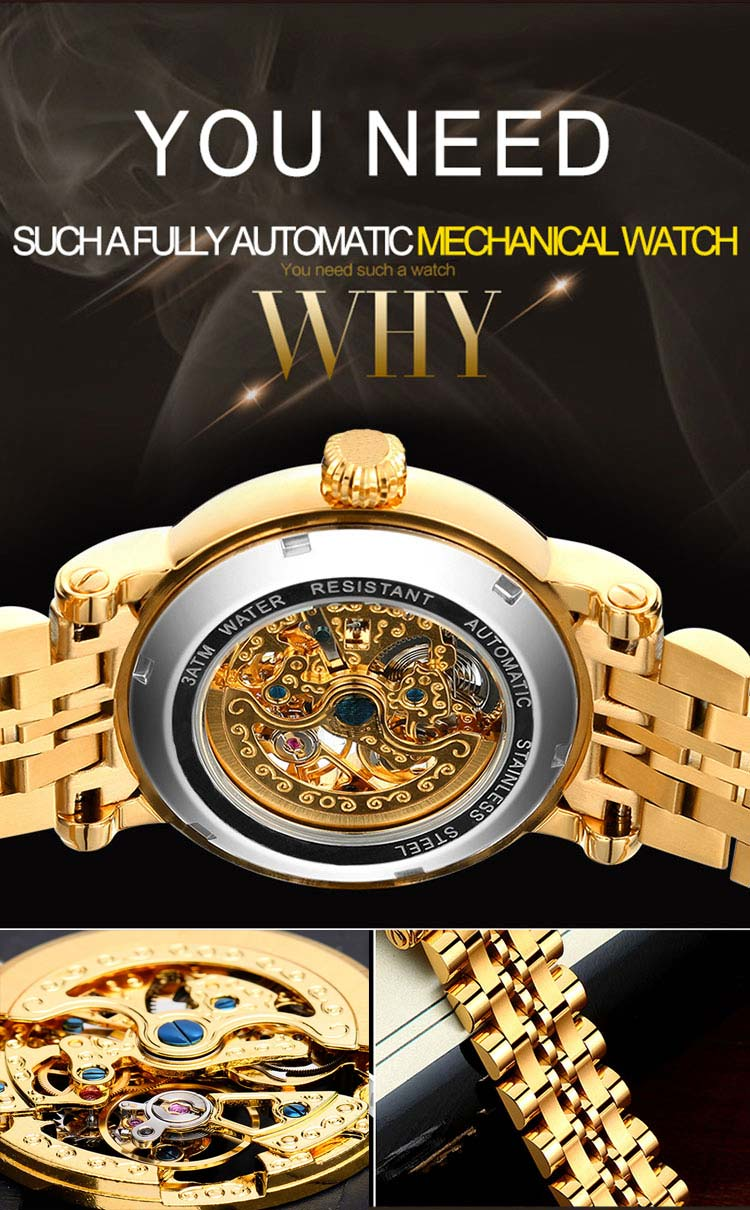 Men's luxury waterproof fashion Mechanical watch (Free Shipping)