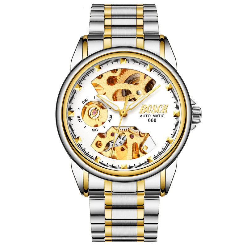 Golden luxury waterproof fashion watch(Buy 2 Free Shipping)