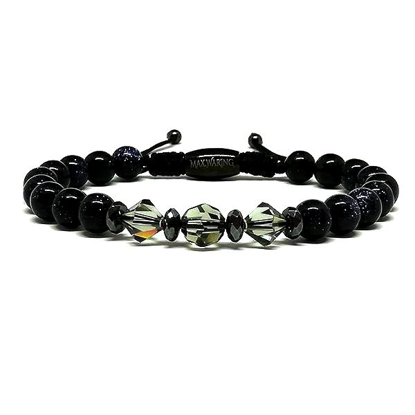 bracelet luxe cristal Black diamond