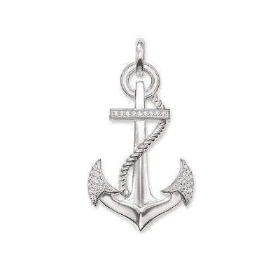 collier ancre marin pour homme - max waring