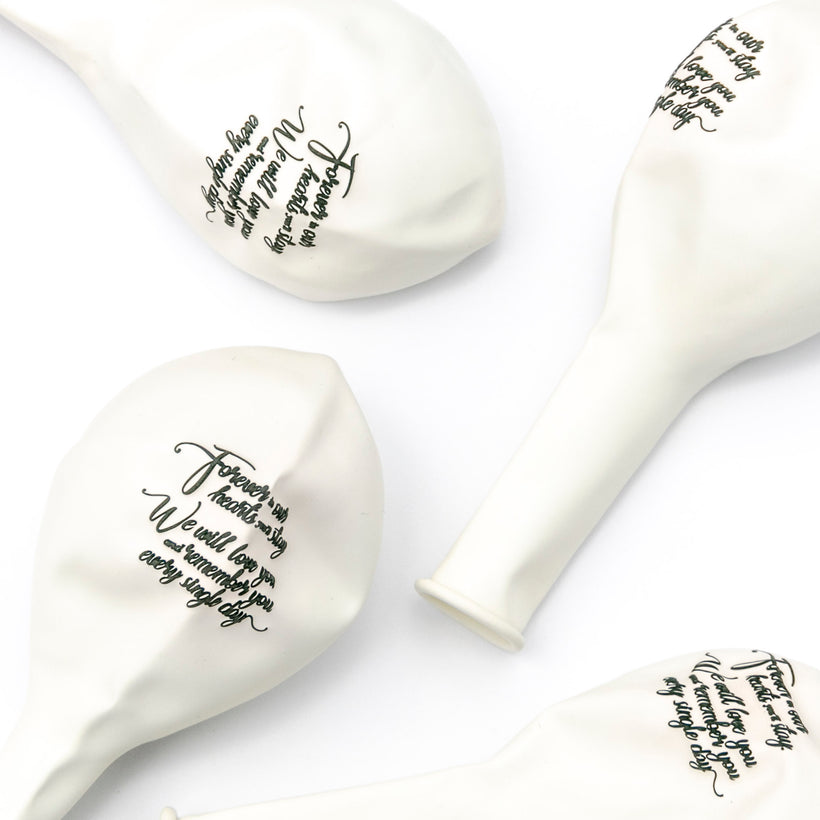 Memorial Balloons & Funeral Remembrance