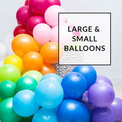 24 inch and 5 inch balloons