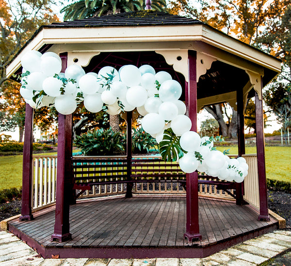 Balloon Garland Arch Pack - Dream White