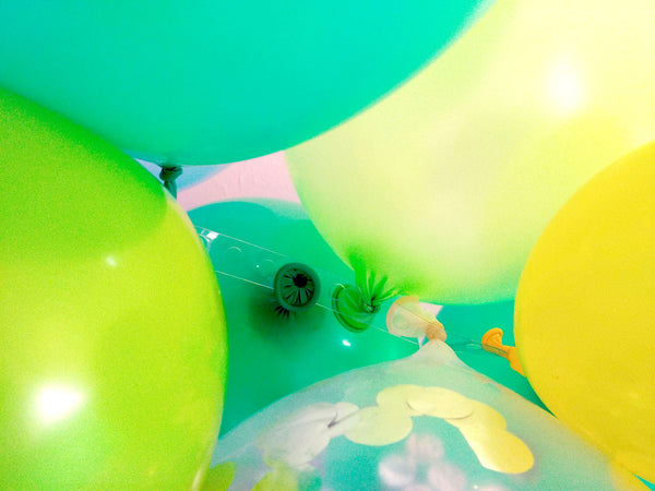 Balloon Garland Arch Pack - Forrest Green