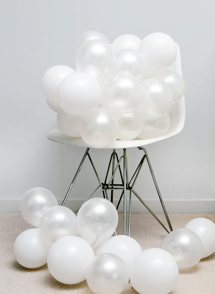 5-inch Small Balloons - Dream White