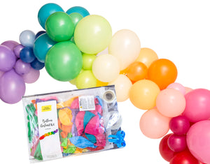 Balloon Garland Arch Pack - Rainbow