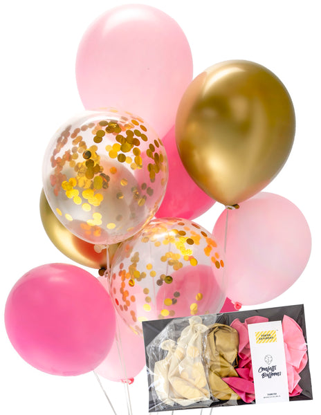 Confetti Mix - Pink Chrome Gold