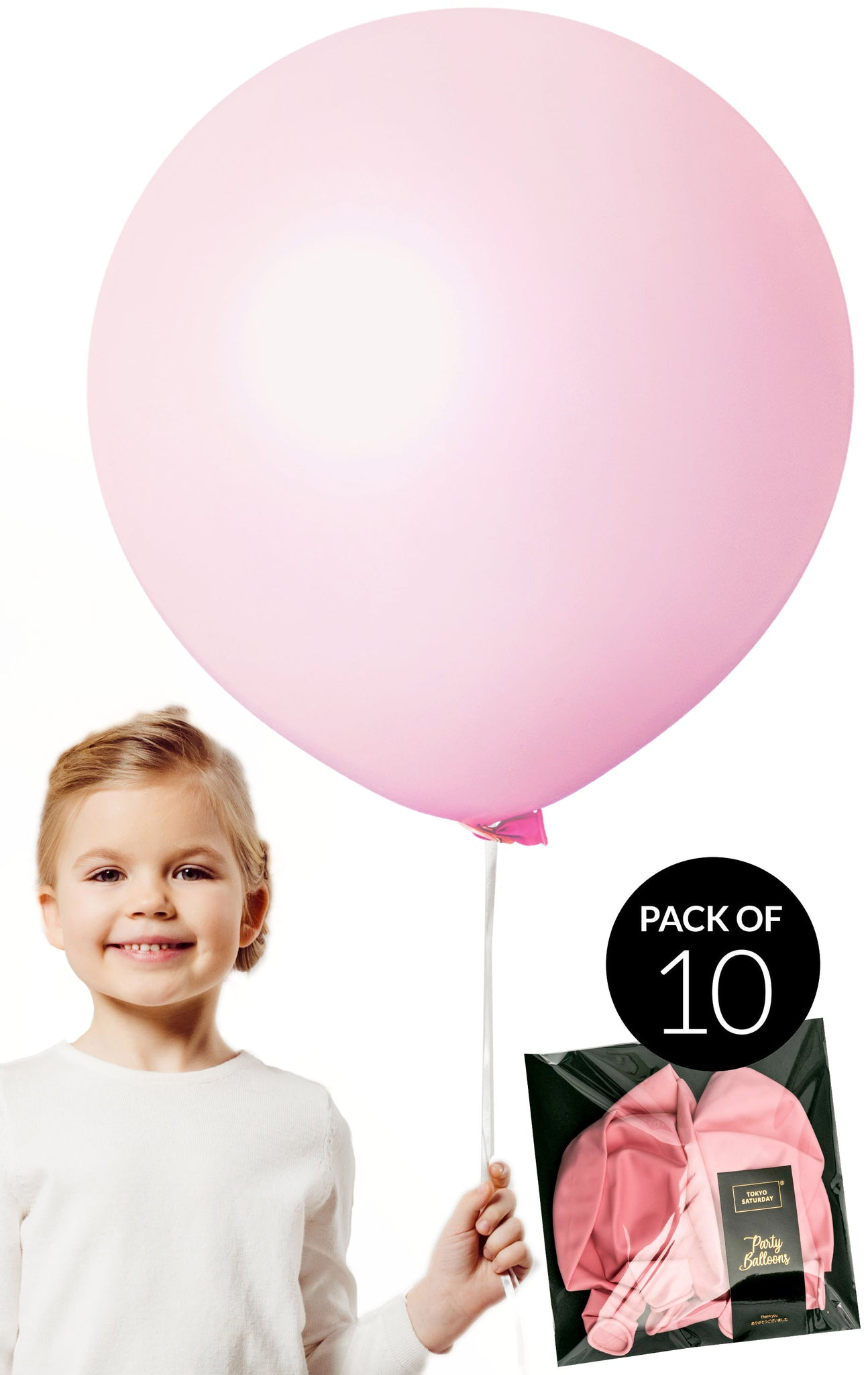 Extra Large 24 inch Balloons - Pink