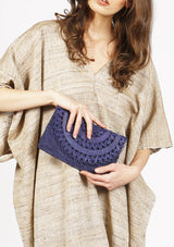 Cheap british designer raffia evening clutch bag beachwear