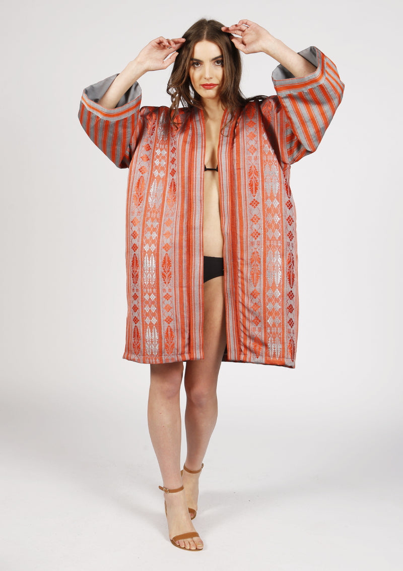 Affordable Designer beachwear women kimono cover-up