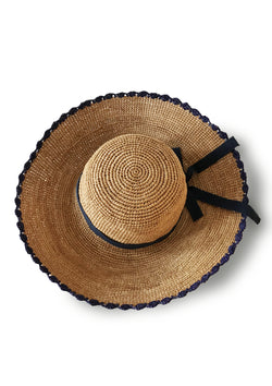 Affordable designer large women beach hat resortwear