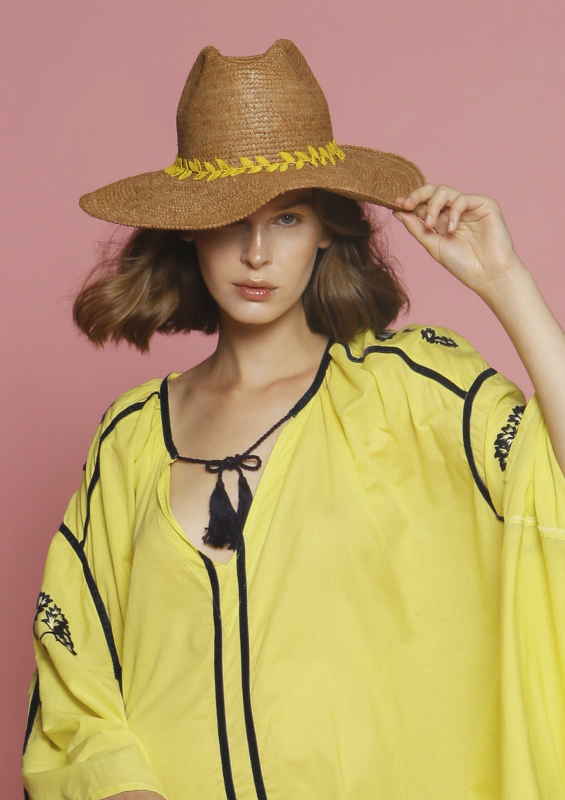 Cheap designer panama hat sustainable fashion beachwear