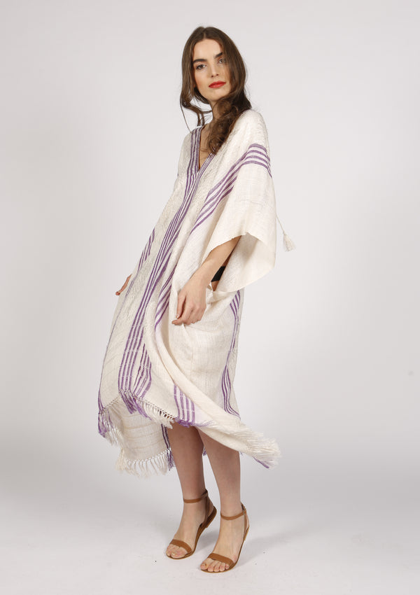 Designer women silk kaftan dress resortwear Beachwear