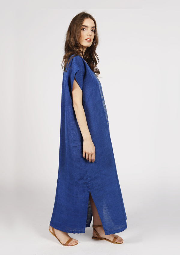 Silk handmade kaftan ethically made