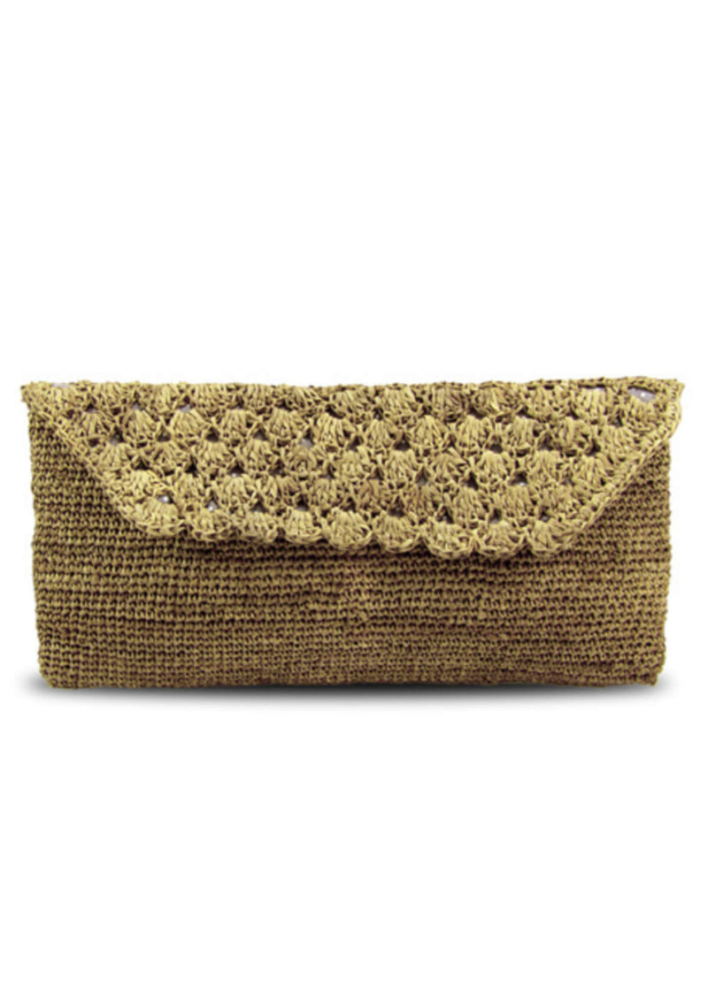 raffia Clutch for reception wedding for sale